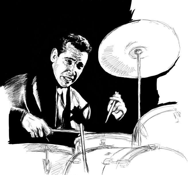 drummer sketch
